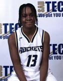 black female ball player