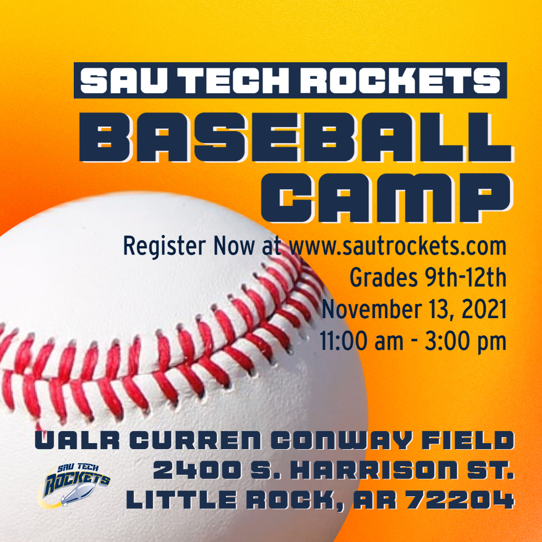 graphic for baseball camp